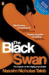Book cover: The Black Swan by Nassim Nicholas Taleb
